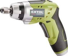 Extol Premium Skrutkovač akumulátorový, 3,6V, Li-ion, LED svetlo