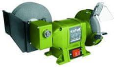 Extol Craft Brúska dvojkotúčová na mokré brúsenie, príkon 250W, priemer kotúča/diery 200/20mm, šírka 40mm, 150/12,7mm, šírka 20mm
