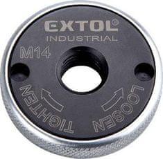 Extol Industrial Matica upínacia pre uhlovú brúsku beznástrojová, M14, 107g