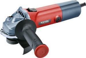 Extol Premium Brúska uhlová, príkon 850W s reguláciou otáčok, priemer 125mm, bezpečnostný spínač