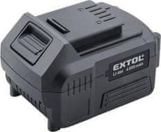 Extol Premium Akumulátor Share 20V/4Ah, Li-ion, pre 88918XX, 87918XX
