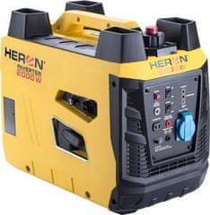 Heron Elektrocentrála digitálna invertorová, 2,0kW, 230V/50Hz, stohovateľná