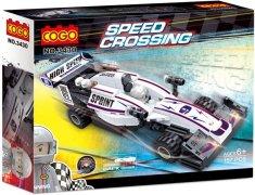 Cogo stavebnice Formule na setrvačník typ LEGO 157 dílů