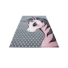 Jutex Detský koberec Playtime 0590A ružový