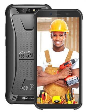 iGET Blackview BV5500 Plus pametni telefon, 3 GB/32 GB, črn