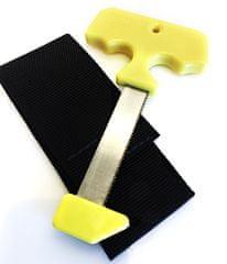 LANDIG Kapesní kostní pilka - Žlutá 8 cm