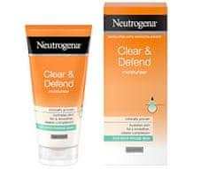 Neutrogena hidratantna krema sa salicilnom kiselinom bez ulja Clear & Defend, 50 ml