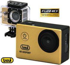 Trevi GO 2200 S2 aktivna sportska kamera, Full HD, sivo-zlatna