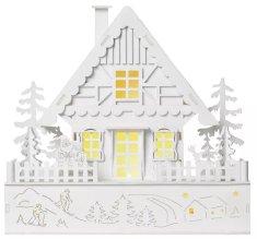 EMOS domek bożonarodzeniowy LED 28 cm, ciepły biały