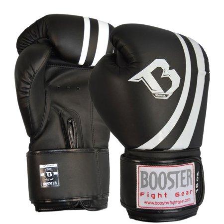 Booster rokavice za boks, 10 oz., črne/bele