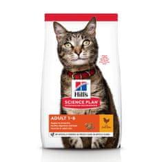 Hill's hrana za mačke Science Plan Feline Adult Chicken, 10 kg