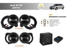 Musway Kompletní ozvučení Audi A3 8V (2013-) - skvělý zvuk