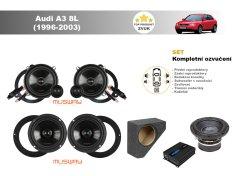 Musway Kompletní ozvučení Audi A3 8L (1996-2003) - skvělý zvuk