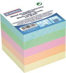 Donau Papírové bločky v kostce, 83x83x75 mm, DONAU, barevné