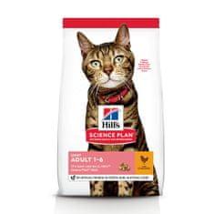Hill's hrana za mačke Science Plan Feline Adult Light Chicken, 10 kg