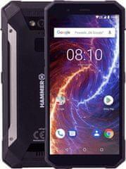 myPhone HAMMER ENERGY 18X9, 3GB/32GB, černý - použité