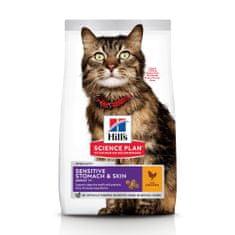 Hill's hrana za mačke Science Plan Feline Adult& Chicken, 7 kg