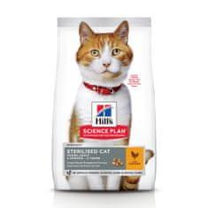 Hill's hrana za mačke Science Plan Feline Young Adult Sterilised Cat Chicken, 3 kg