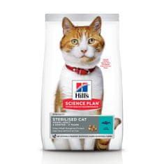 Hill's hrana za mačke Science Plan Feline Young Adult Sterilised Cat Tuna, 10 kg