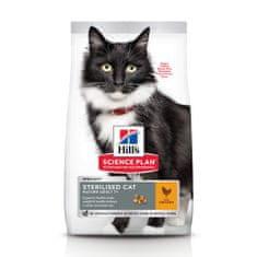 Hill's hrana za mačke Science Plan Feline Mature Adult 7+ Sterilised Cat Chicken, 10 kg