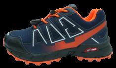 V+J dětská sportovní obuv 684009 Navy/Orange