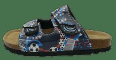 V+J chlapecké pantofle 704010/Blau