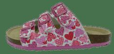 V+J dívčí pantofle 704208/Fuxia