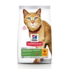 Hill's hrana za mačke Science Plan Feline Adult 7+ Youthful Vitality Chicken, 1,5 kg