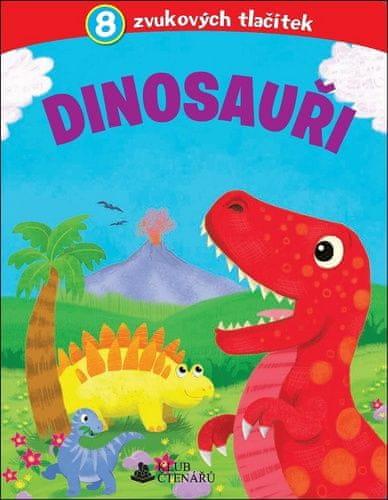 Dinosauři - 8 zvukových tlačítek