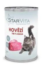 Starvita Macska konzerv őrölt marhahúsból 15x400 g