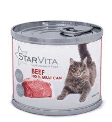 Starvita konzerva za mačke s mljevenom govedinom 15x200 g