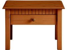 Danish Style Konferenčný stolík Linde, 110 cm, čerešňa