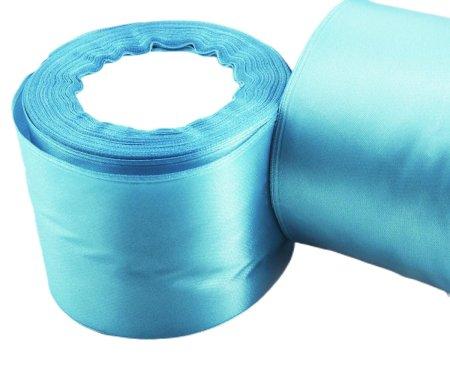 Kraftika 3m 10ft 3.3yds turquoise baby blue large wide szatén szalag