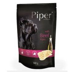 Kraftika Piper s hovězími dršťkami, kapsička pro psy 500g, piper