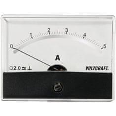 Conrad Analogové panelové měřidlo VOLTCRAFT AM-86X65/5A/DC 5 A