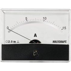 Conrad Analogové panelové měřidlo VOLTCRAFT AM-86X65/15A/DC 15 A