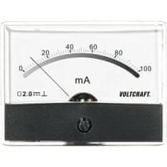 Conrad Analogové panelové měřidlo VOLTCRAFT AM-86X65/100MA 100 mA