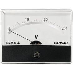 Conrad Analogové panelové měřidlo VOLTCRAFT AM-86X65/30V/DC 30 V