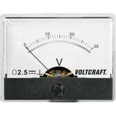 Conrad Analogové panelové měřidlo VOLTCRAFT AM-60X46/30V/DC 30 V