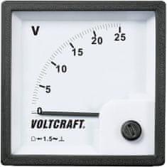 Conrad Analogové panelové měřidlo VOLTCRAFT AM-72x72/25V 25 V