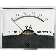 Conrad Analogové panelové měřidlo VOLTCRAFT AM-60X46/1MA/DC 1 mA