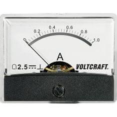 Conrad Analogové panelové měřidlo VOLTCRAFT AM-60X46/1A/DC 1 A