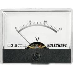 Conrad Analogové panelové měřidlo VOLTCRAFT AM-60X46/15V/DC 15 V