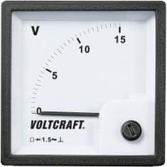 Conrad Analogové panelové měřidlo VOLTCRAFT AM-72x72/15V 15 V