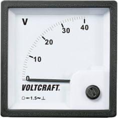 Conrad Analogové panelové měřidlo VOLTCRAFT AM-72x72/40V 40 V