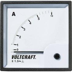 Conrad Analogové panelové měřidlo VOLTCRAFT AM-72X72/10A 10 A