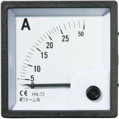 Conrad Analogové panelové měřidlo VOLTCRAFT AM-72X72/25A 25 A