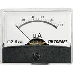 Conrad Analogové panelové měřidlo VOLTCRAFT AM-60X46/100µA/DC 100 µA