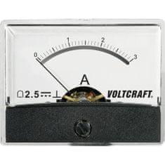 Conrad Analogové panelové měřidlo VOLTCRAFT AM-60X46/3A/DC 3 A