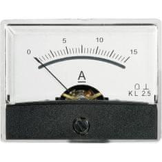 Conrad Analogové panelové měřidlo VOLTCRAFT AM-60X46/15A/DC 15 A